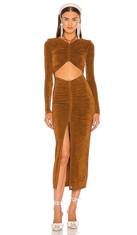 Helena Midi Dress Lovers and Friends $228 NEW