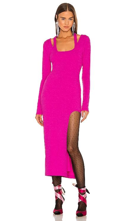 Naomi Midi Dress Lovers + Friends $188 NEW