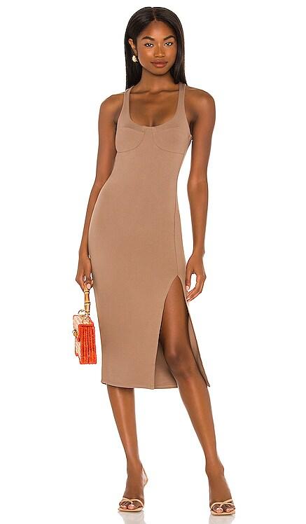 Logan Midi Dress Lovers + Friends $158 NEW