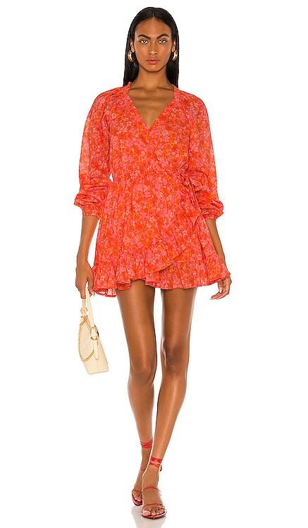 Reston Wrap Dress Lovers + Friends $228 NEW