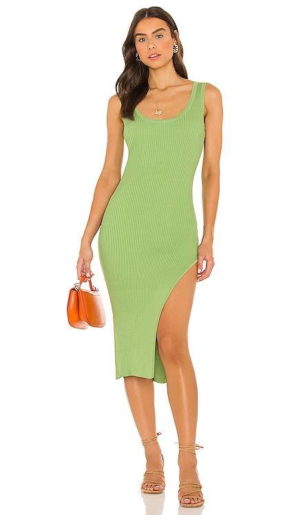 Amelia Midi Dress Lovers + Friends $138 NEW