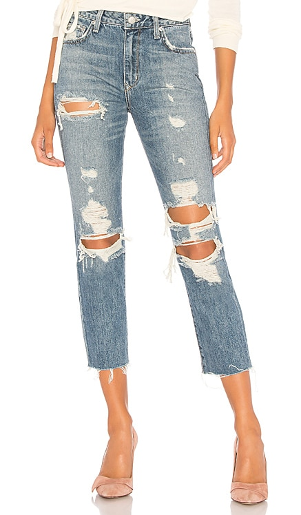 Logan High-Rise Tapered Jean Lovers + Friends $170