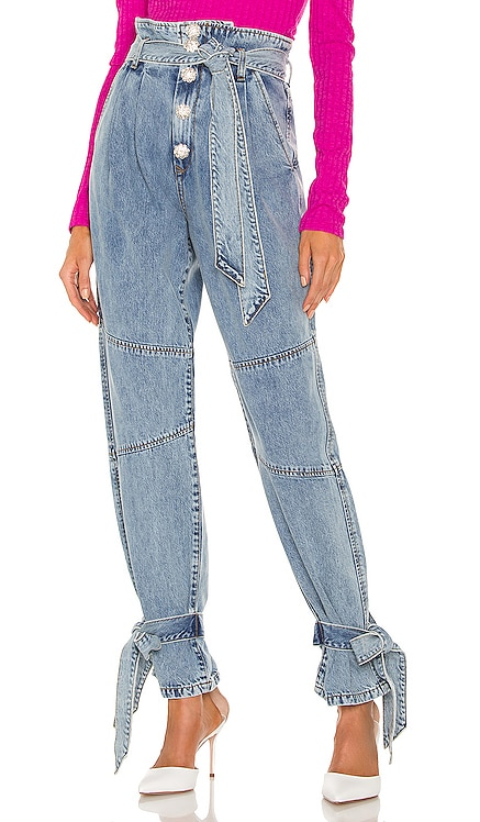 Alexis Paperbag Jean Lovers + Friends $228 NEW