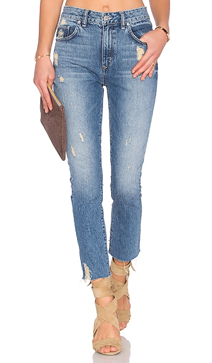 Logan High-Rise Tapered Jean Lovers + Friends $106