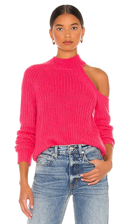 Alba Cold Shoulder Sweater Lovers + Friends $178 NEW