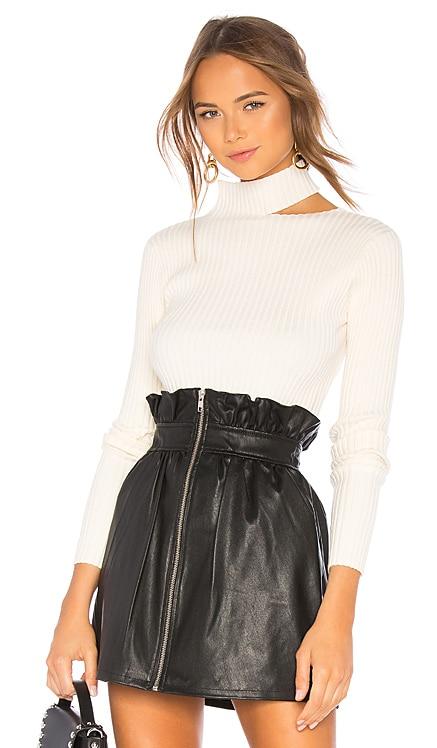 Cut Out Mockneck Sweater Lovers + Friends $108 BEST SELLER