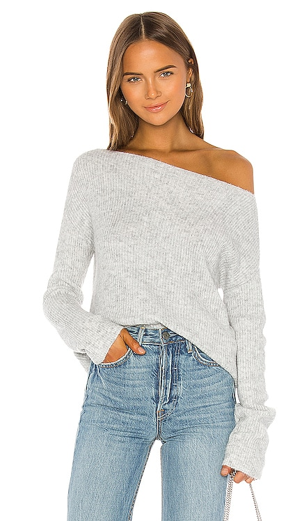 Alayah Off Shoulder Sweater Lovers + Friends $138