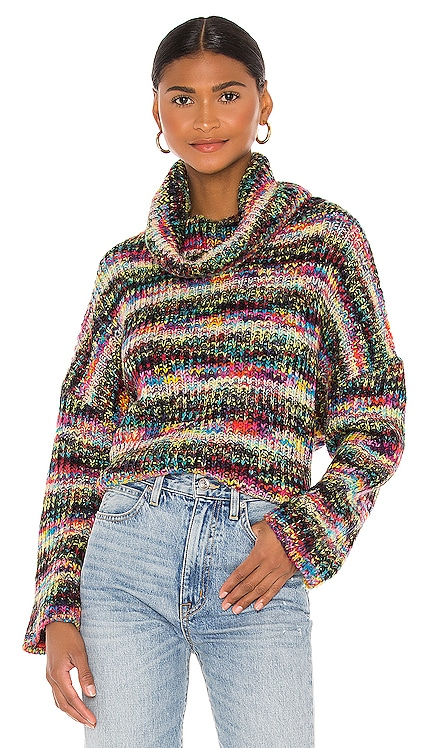 Leslie Turtleneck Sweater Lovers + Friends $138 NEW
