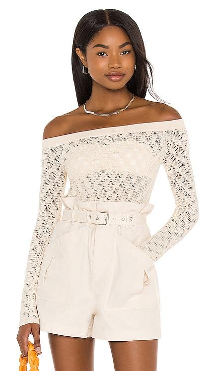 Astrid Off Shoulder Sweater Lovers + Friends $168