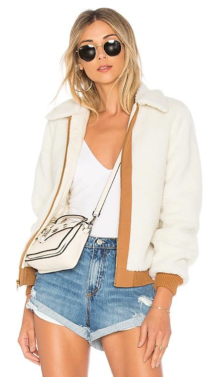 Simone Faux Fur Jacket Lovers + Friends $198 BEST SELLER