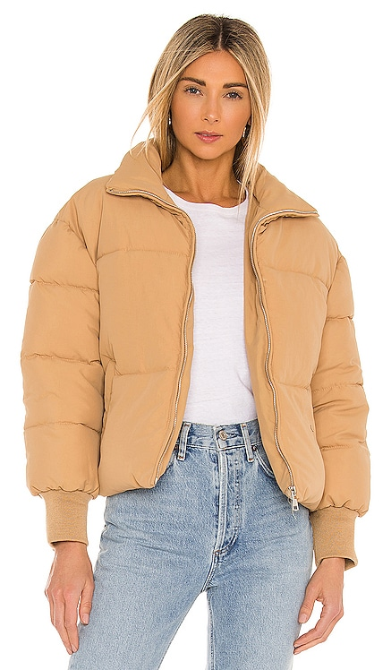 Jillian Puffer Jacket Lovers + Friends $168