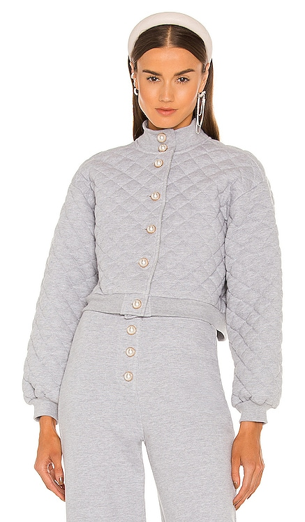 Claudia Quilted Jacket Lovers + Friends $348 NEW