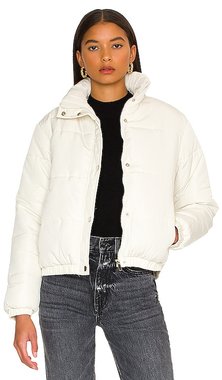 Ryann Puffer Jacket Lovers and Friends $168 NEW