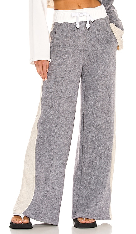 Blocked Wide Leg Jogger Lovers + Friends $168 NEW