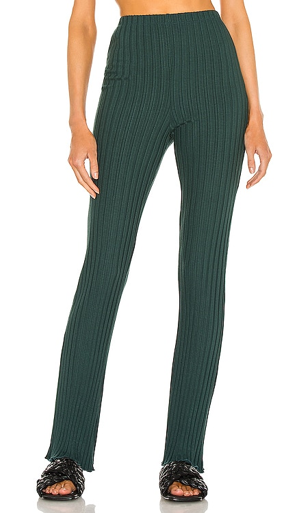 Ribbed Flare Pant Lovers + Friends $138 NEW