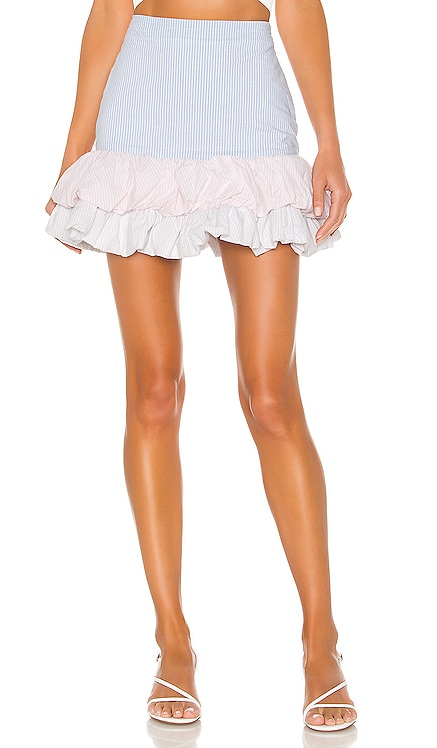 Confetti Mini Skirt Lovers + Friends $148 NEW ARRIVAL