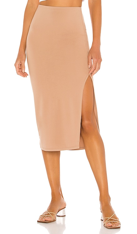 Aubrey Midi Skirt Lovers + Friends $98