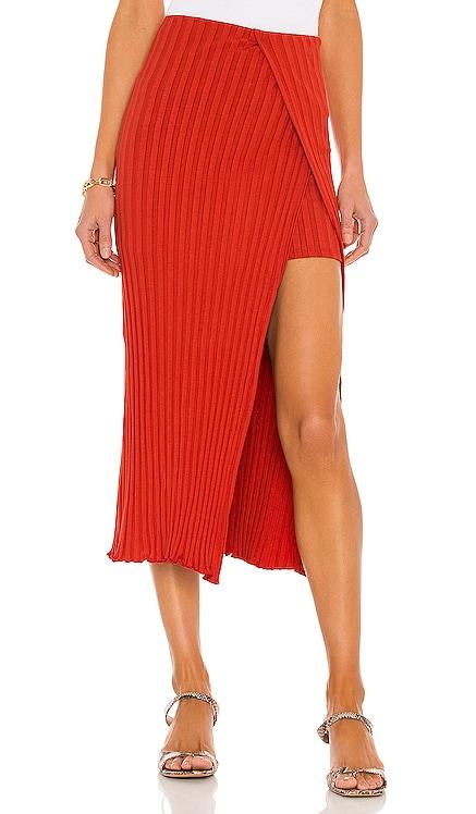 Layered Midi Skirt Lovers + Friends $180