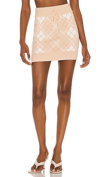 Rylan Drawstring Mini Skirt Lovers and Friends $110