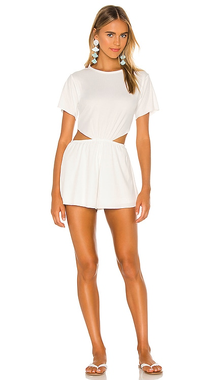 Kyle Cut Out Romper Lovers + Friends $128 NEW