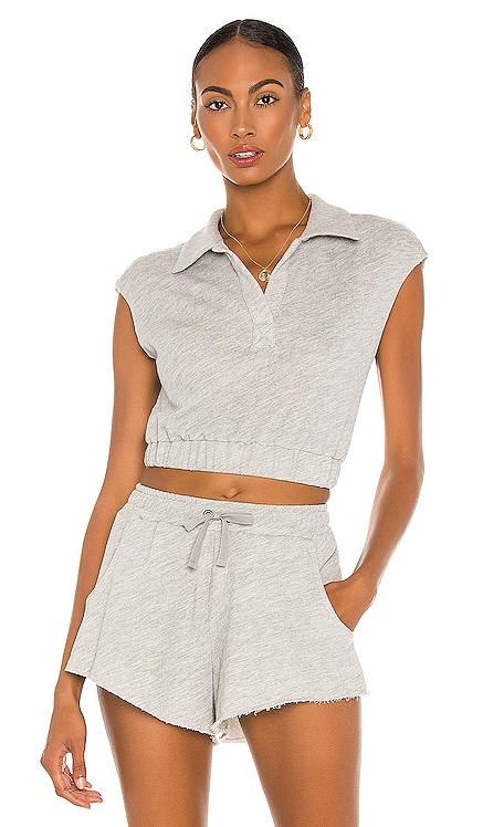 Terry Sleeveless Pullover Lovers + Friends $88 NEW