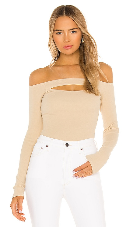 Cut Out Off Shoulder Top Lovers + Friends $135
