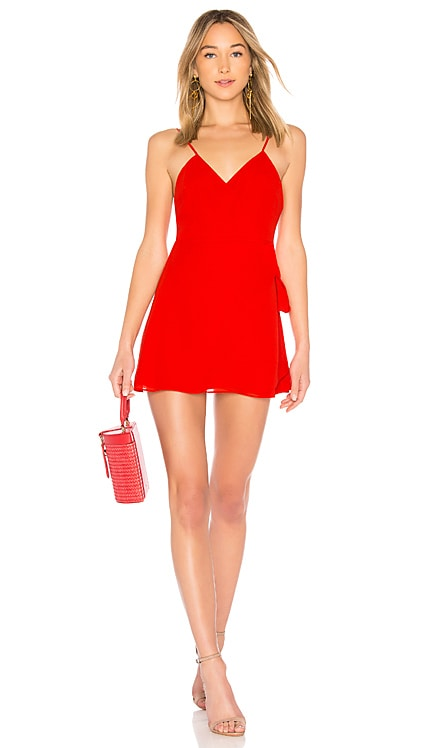 Wrap Mini Dress LPA $39 (FINAL SALE)