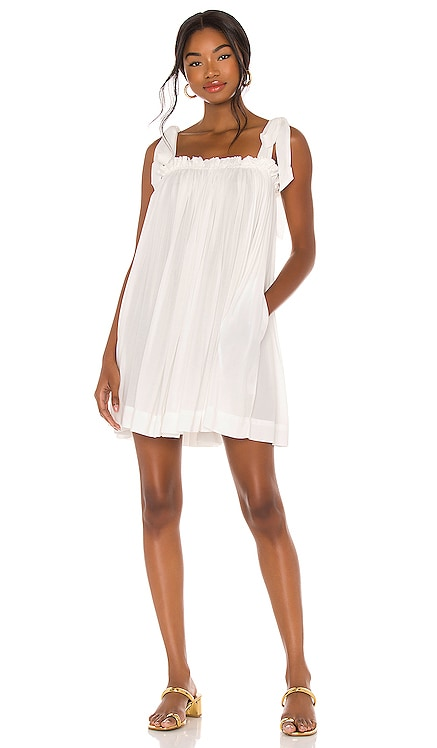 Tie Strap Babydoll Dress LPA $168 NEW