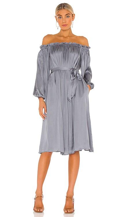Off Shoulder Lounge Dress LPA $188 NEW