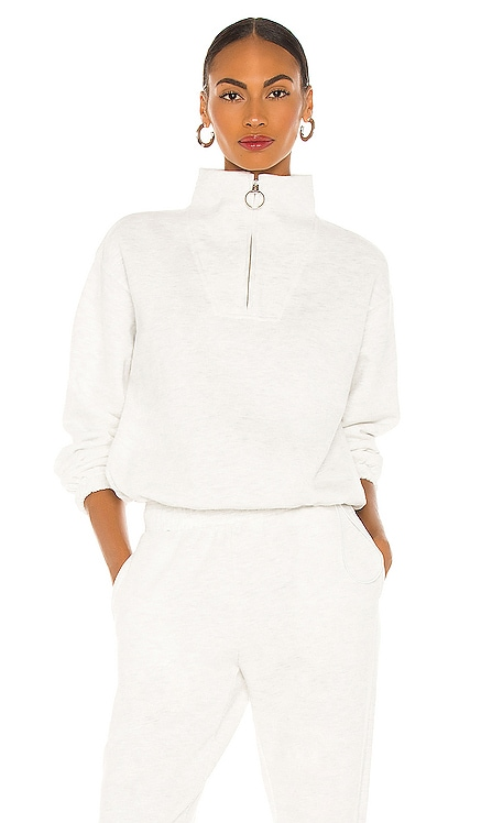 Mock Neck Zip Sweater LPA $178 BEST SELLER