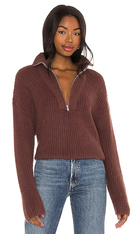 Lesley Half Zip Sweater LPA $208 NEW