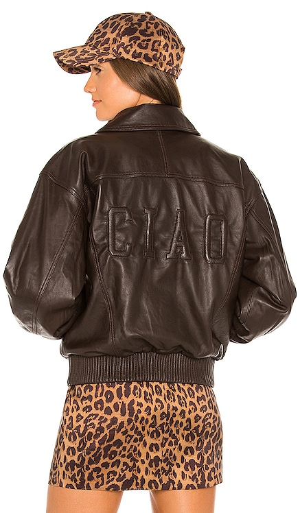 Ciao Leather Jacket LPA $598 NEW