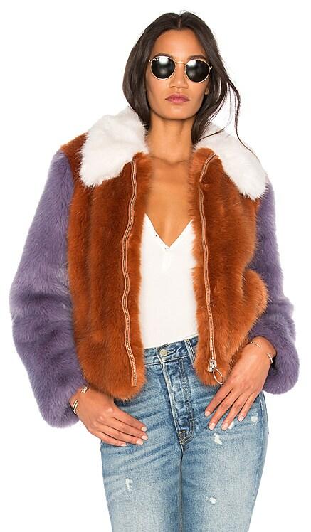 Faux Fur Jacket 413 LPA $164