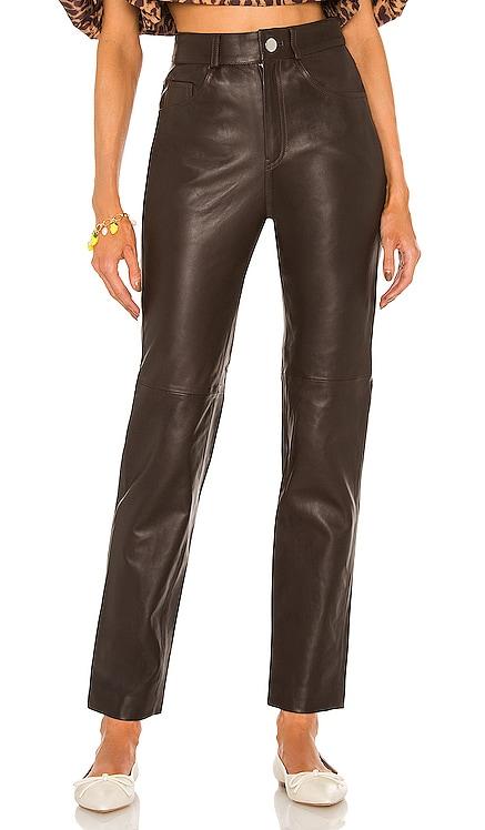Leather Pant 417 LPA $498 NEW