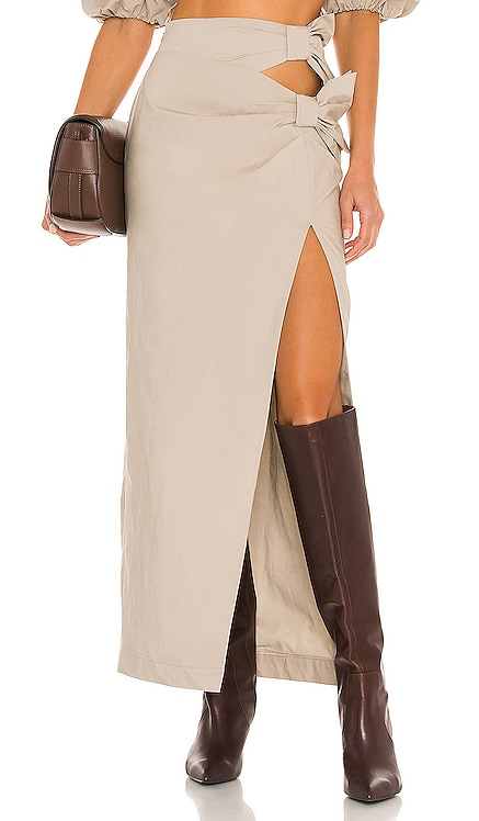 Sofia Maxi Skirt LPA $180 NEW