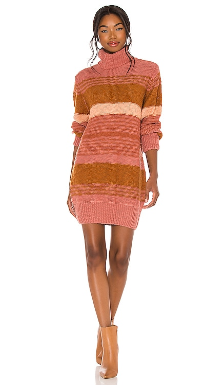 Jetsetter Sweater Dress L*SPACE $158 NEW