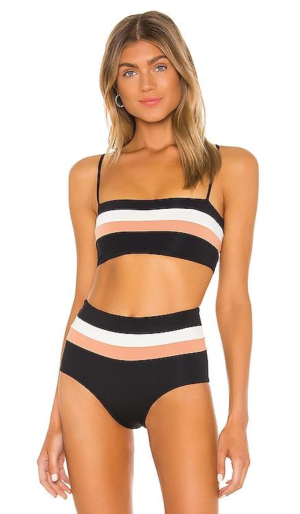 Rebel Stripe Bikini Top L*SPACE $88 BEST SELLER