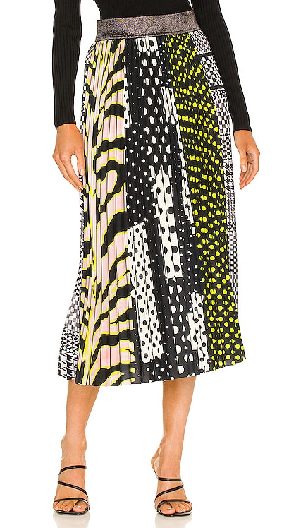 All Sports Patchwork Skirt Le Superbe $445 NEW