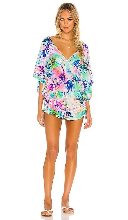 Celestial Dreams Cabana V Neck Dress Luli Fama $138