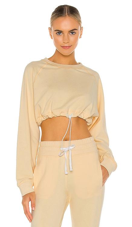 x REVOLVE Carla Oversized Crop Sweatshirt lilybod $82