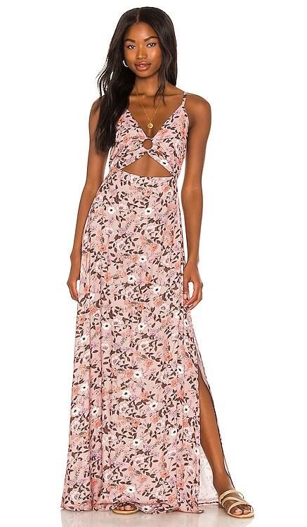 Ditsy Aurora Long Dress Maaji $138 NEW