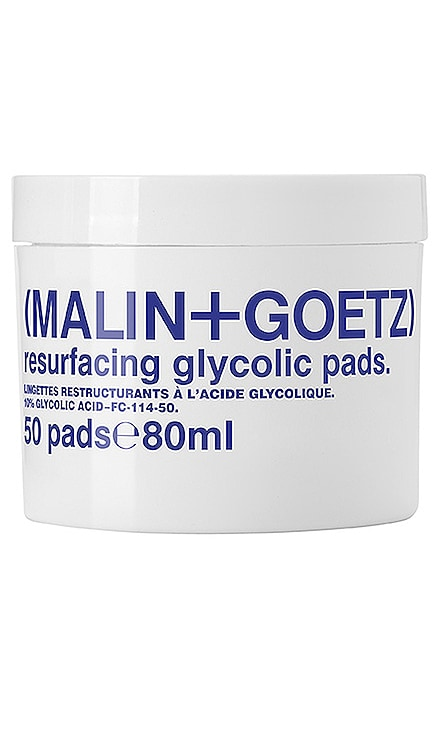 Resurfacing Glycolic Acid Pads MALIN+GOETZ $52 BEST SELLER