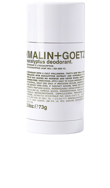 Eucalyptus Deodorant MALIN+GOETZ $22 BEST SELLER