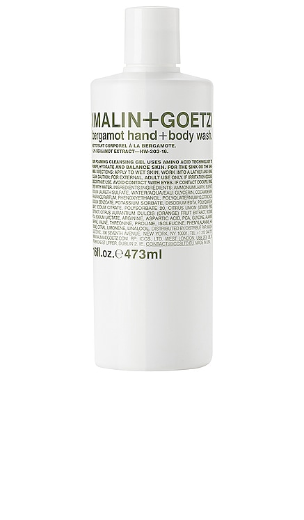 Bergamot Hand + Body Wash MALIN+GOETZ $36 BEST SELLER
