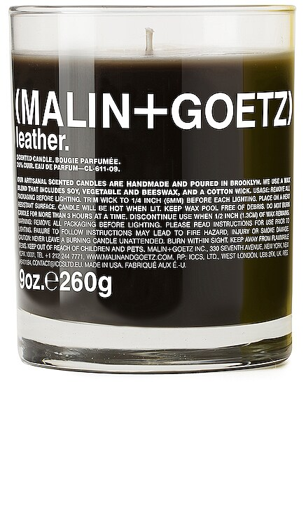 Leather Candle MALIN+GOETZ $55 BEST SELLER