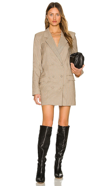 Carlina Blazer Dress MAJORELLE $238 NEW