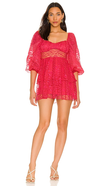Brielle Mini Dress MAJORELLE $248 NEW