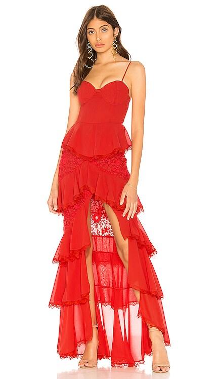 Zelda Fitz Gown MAJORELLE $239