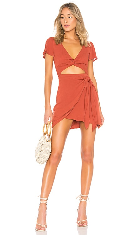 Evelyn Dress MAJORELLE $168