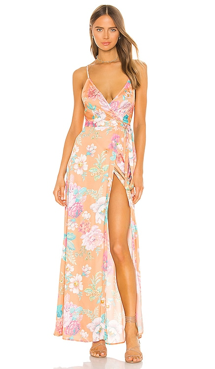 Cubano Maxi Dress MAJORELLE $143